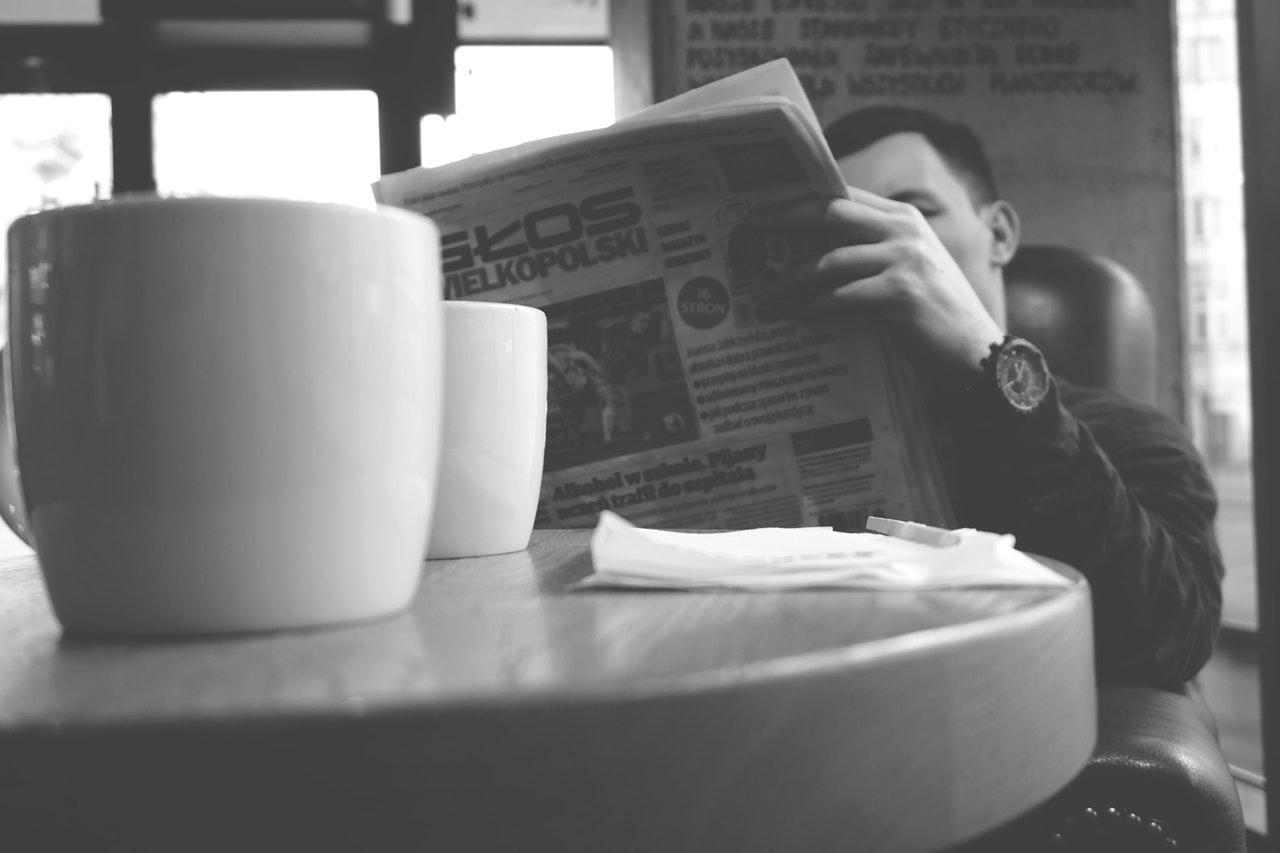 Чтение утренних новостей