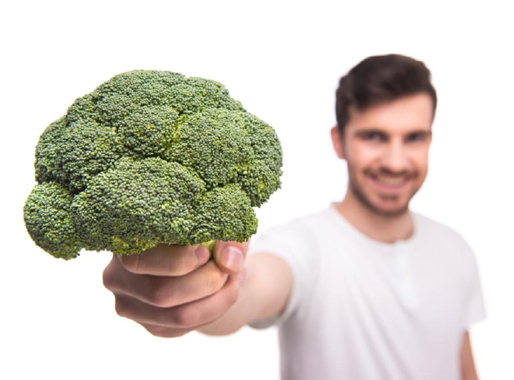 Ешь зеленые овощи