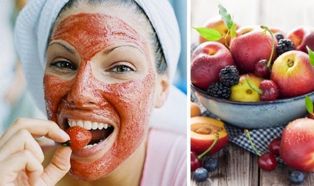 Летние маски из фруктов и овощей