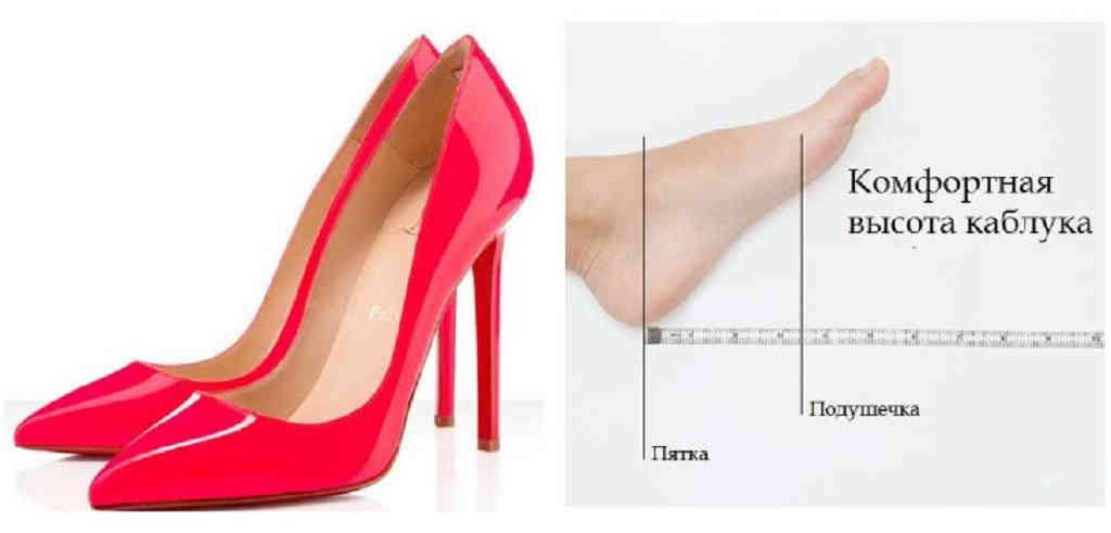 Какую высоту каблука предпочесть?
