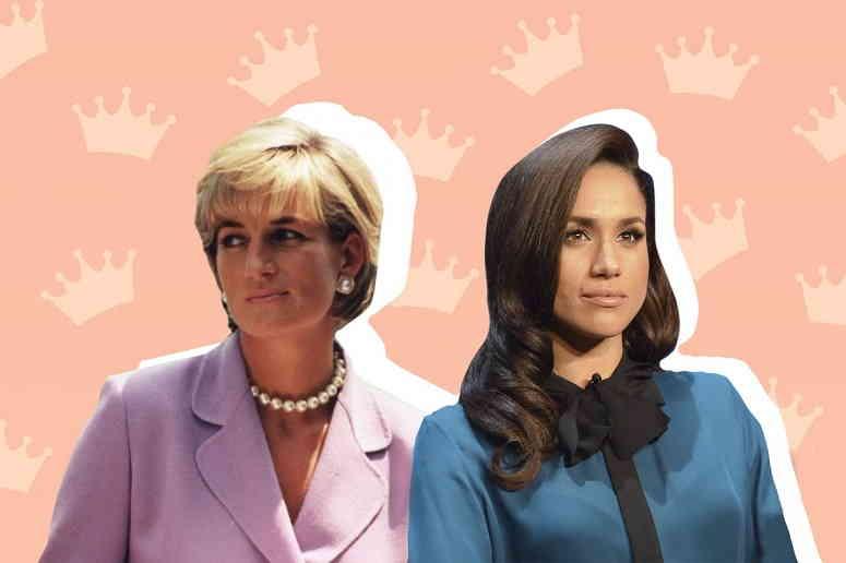 Бунтарки королевской семьи - Меган Маркл и принцесса Диана
