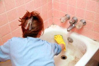 Как отмыть ржавчину, грязь и известковый налёт в ванне