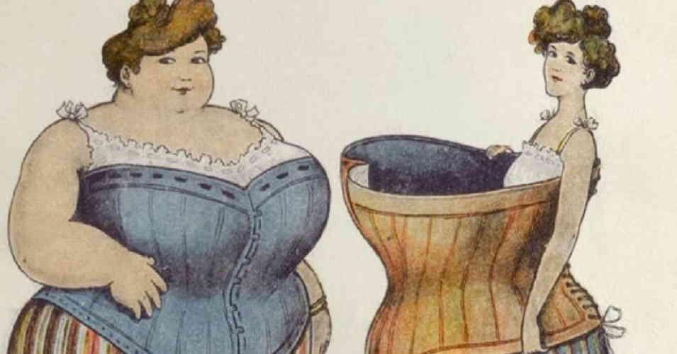 Странные методы похудения в истории человечества