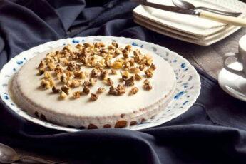 Тыквенный торт без выпечки